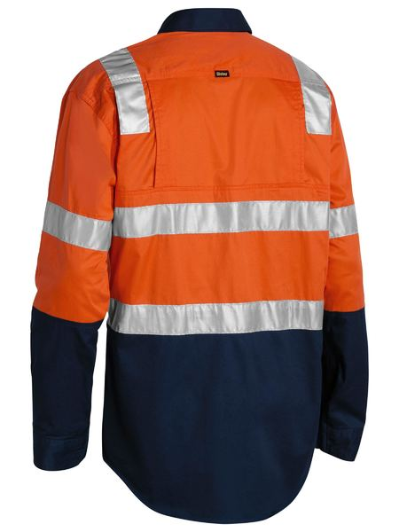 Bisley Bisley 3M Taped Cool Lightweight Shirt With Shoulder Tape (BS6432T) - Trade Wear