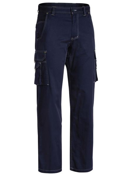Bisley Bisley Cool Vented Light Weight Cargo Pant-Navy  (BPC6431) - Trade Wear