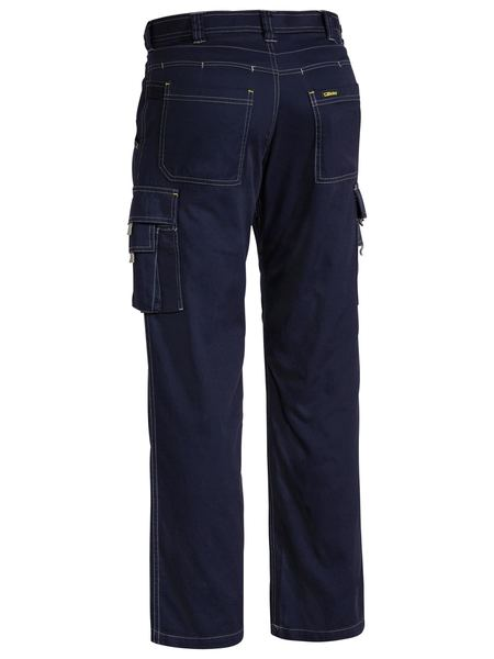 Bisley Cool Vented Light Weight Cargo Pant-Navy  (BPC6431) - Trade Wear