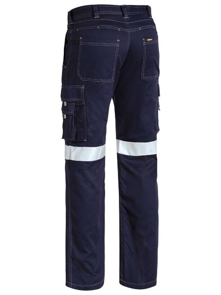 Bisley Bisley 3M Taped Cool Vented Light Weight Cargo Pant-Navy (BPC6431T) - Trade Wear