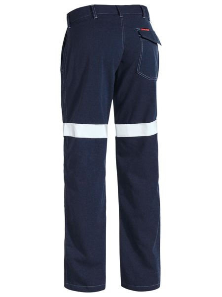 Bisley TenCate Tecasafe Plus Taped Engineered FR Pant (BP8090T) - Trade Wear