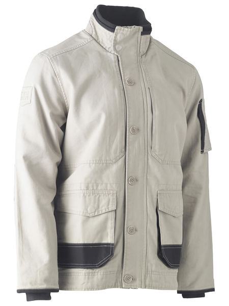 Bisley Bisley Flex & Move™ Canvas Jacket (BJ6500) - Trade Wear