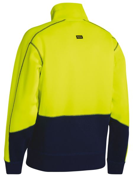 Bisley Hi Vis Fleece Pullover (BK6989) - Trade Wear