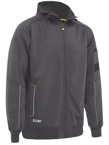 Bisley Bisley Zip-Front Work Fleece Hoodie (BK6925) - Trade Wear