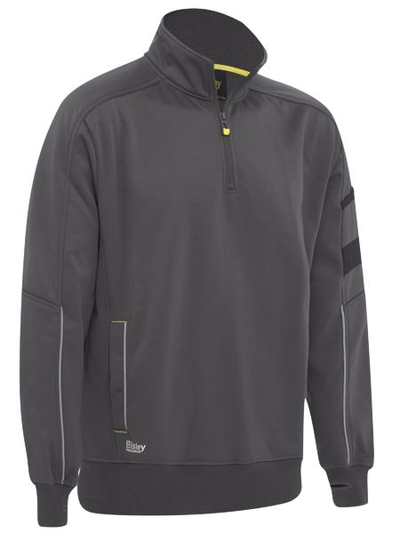 Bisley Bisley 1/4 Zip Work Fleece Pullover (BK6924) - Trade Wear