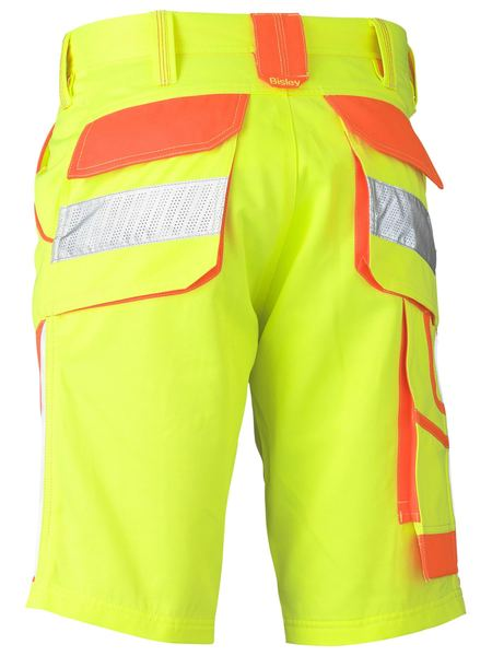 Bisley Bisley Double Hi Vis Short (BSH1411) - Trade Wear
