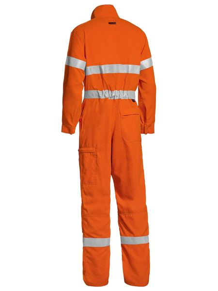 Bisley Bisley Tencate Tecasafe® Plus Taped Hi Vis Lightweight Coverall (BC8178T) - Trade Wear