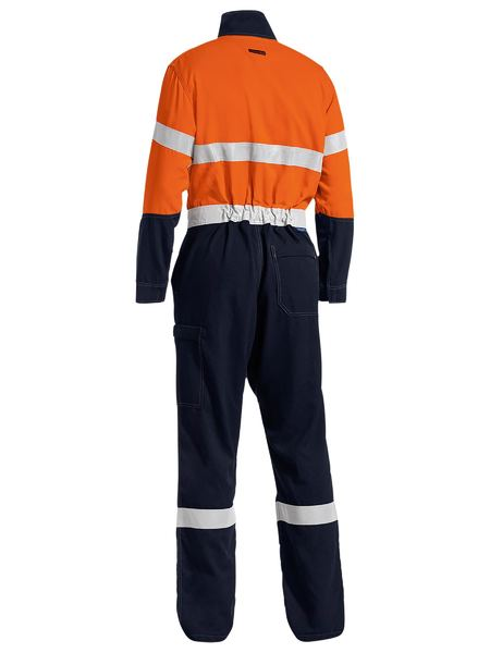 Bisley Bisley Taped Two Tone Hi Vis Lightweight Coverall (BC8177T) - Trade Wear