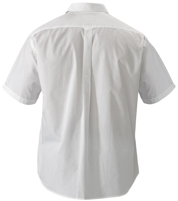 Bisley Bisley Permanent Press Shirt - Short Sleeve - White (BS1526) - Trade Wear