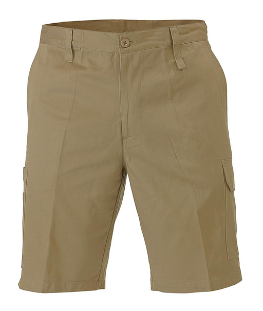 Bisley Cool Lightweight Utility Short - Khaki (BSH1999) - Trade Wear