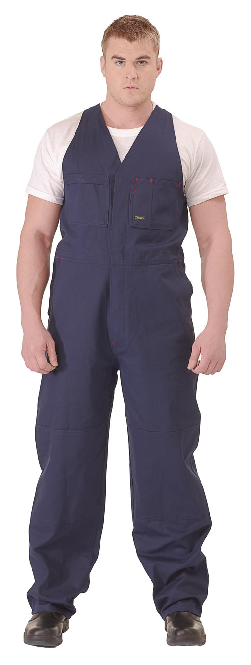 Bisley Bisley Action Back Overalls - Navy (BAB0007) - Trade Wear