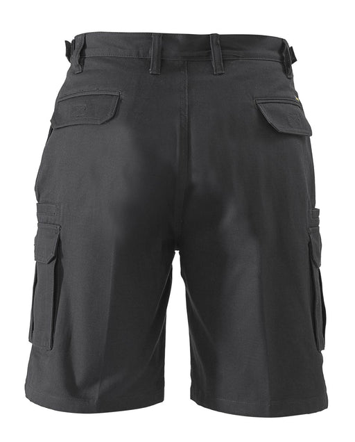 Bisley 8 Pocket Cargo Short - Black (BSHC1007) - Trade Wear