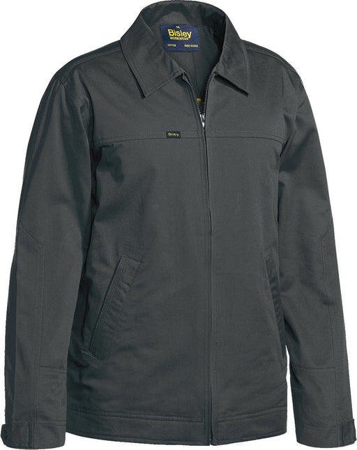 Bisley Cotton Drill Jacket with Liquid Repellent Finish (BJ6916) - Trade Wear