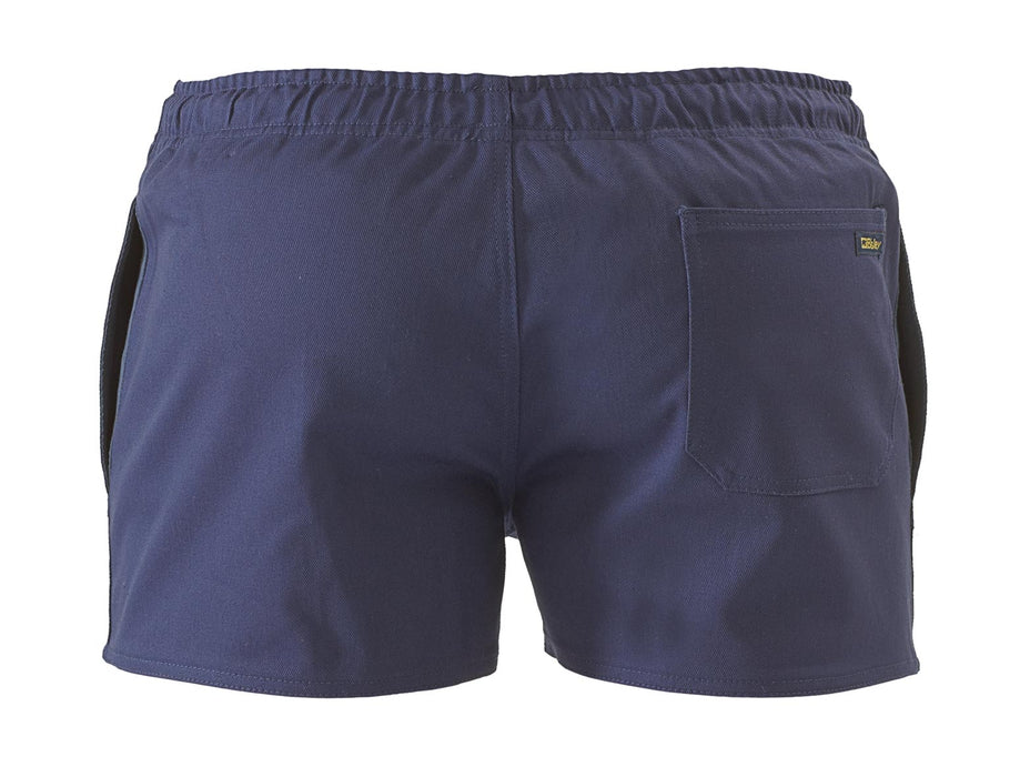 Bisley Rugby Short - Navy (BSHRB1007) - Trade Wear
