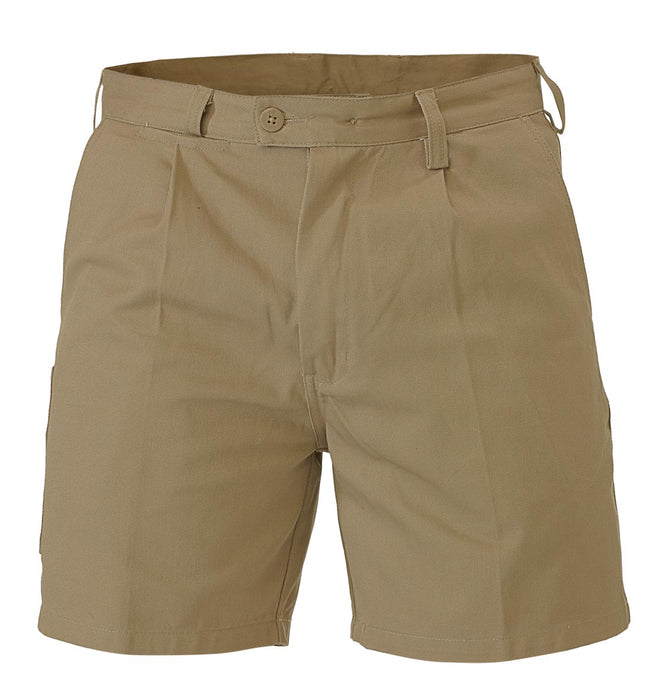Bisley Work Short - Khaki (BSH1007) - Trade Wear