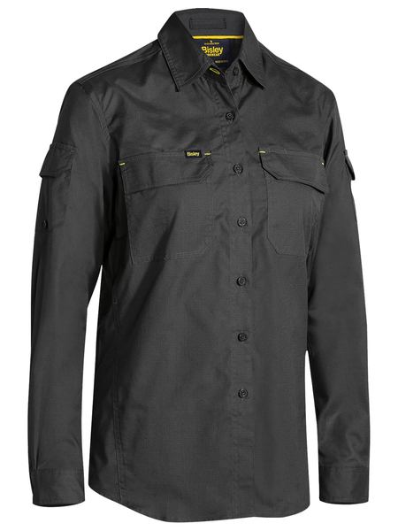 Bisley Bisley Womens X Airflow Ripstop Shirt (BL6414) - Trade Wear