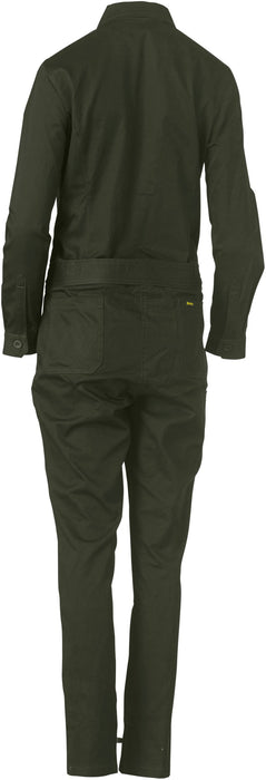 Bisley Bisley Womens Cotton Drill Coverall (BCL6065) - Trade Wear