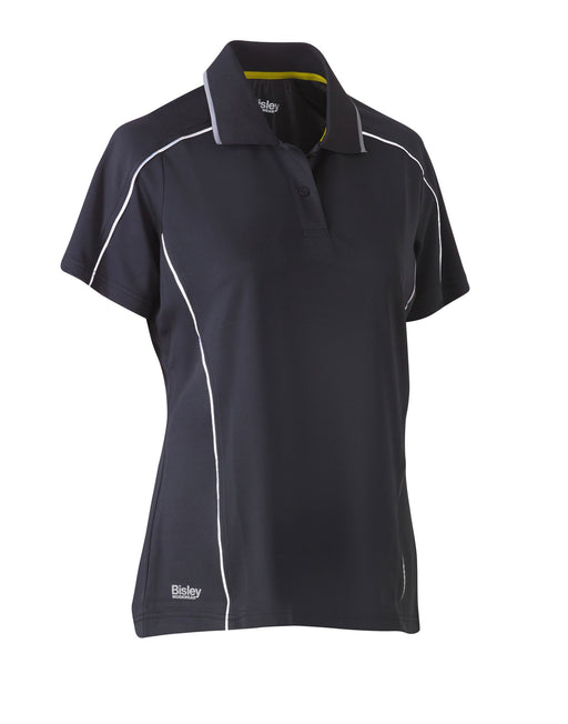 Bisley Bisley Women's Cool Mesh Polo Shirt (BKL1425) - Trade Wear