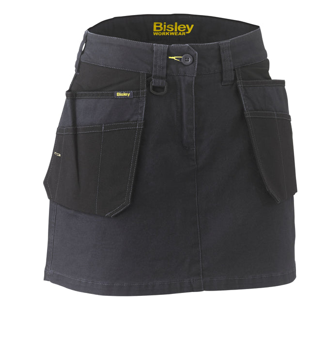Bisley Bisley Womens Flex and Move™ Stretch Cotton Skort (BLS1024) - Trade Wear