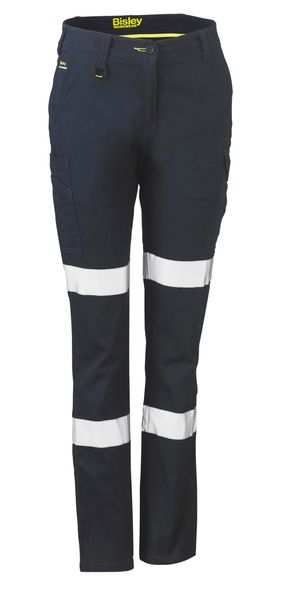 Bisley Bisley Womens Taped Cotton Cargo Pants (BPL6115T) - Trade Wear