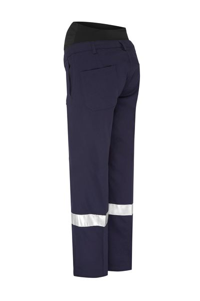 Bisley Bisley 3M Taped Maternity Drill Work Pant (BPLM6009T) - Trade Wear