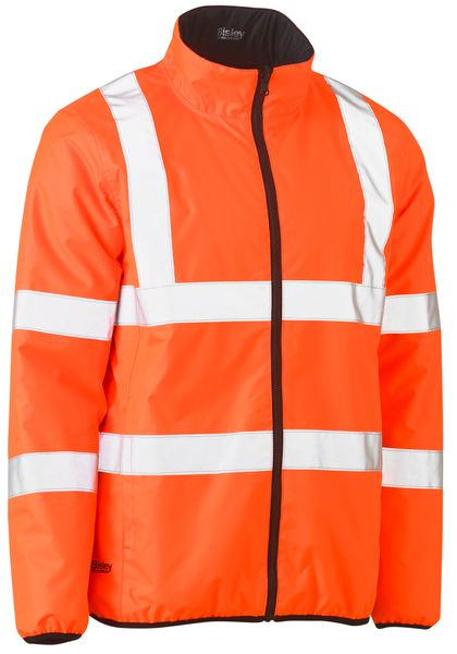 Bisley Bisley Taped Hi Vis Reversible Puffer Jacket (BJ6350HT) - Trade Wear