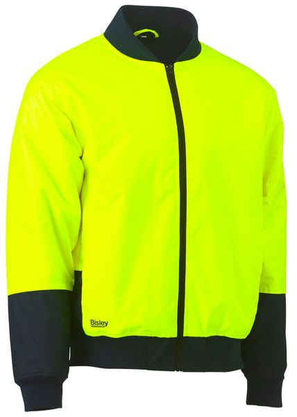 Bisley Bisley Two Tone Hi Vis Bomber Jacket (BJ6730) - Trade Wear