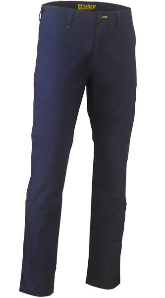 Bisley Bisley Stretch Cotton Drill Work Pants - Navy (BP6008) - Trade Wear