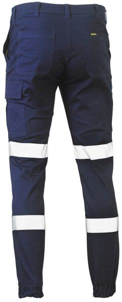 Bisley Bisley Taped Biomotion Stretch Cotton Drill Cargo Pants (BPC6028T) - Trade Wear