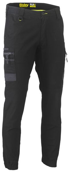 Bisley Flex and Move™ Stretch Cargo Cuffed Pants (BPC6334) - Trade Wear