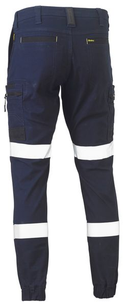 Bisley Bisley Flex and Move™ Taped Stretch Cargo Cuffed Pants (BPC6334T) - Trade Wear