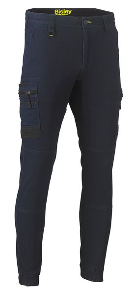 Bisley Bisley Flex and Move™ Stretch Denim Cargo Cuffed Pants (BPC6335) - Trade Wear
