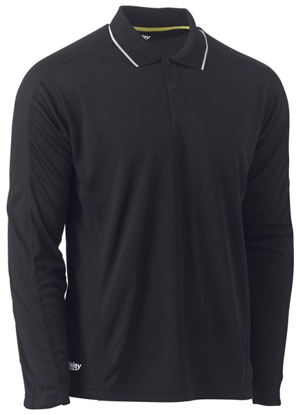 Bisley Bisley Cool Mesh Polo Shirt With Reflective Piping (BK6425) - Trade Wear