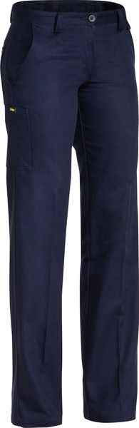 Bisley Ladies - Drill Pant - Navy (BPL6007) - Trade Wear