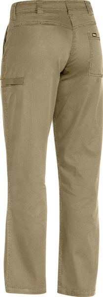 Bisley Bisley Women's Cool Vented Lightweight Pant - Khaki (BPL6431) - Trade Wear