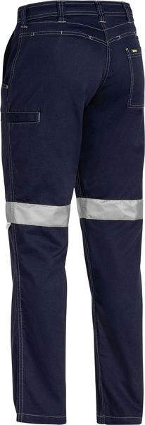 Bisley Bisley Womens 3M Taped Cool Vented Light Weight Pant - Navy (BPL6431T) - Trade Wear
