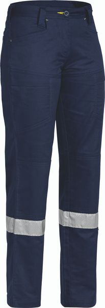 Bisley Womens 3M Taped X Airflow™ Ripstop Vented Work Pant - Navy (BPL6474T) - Trade Wear