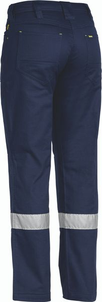 Bisley Bisley Womens 3M Taped X Airflow™ Ripstop Vented Work Pant - Navy (BPL6474T) - Trade Wear