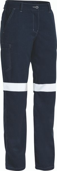 Bisley Bisley Tencate Tecsafe Plus Womens Taped Engineered FR Cargo Pant (BPL8092T) - Trade Wear