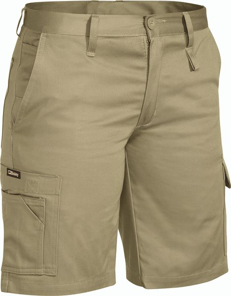 Bisley Bisley Womens - Drill Light Weight Utility Short - Khaki (BSHL1999) - Trade Wear