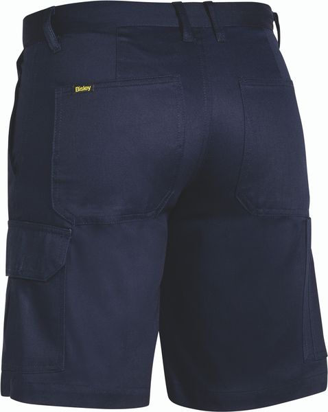 Bisley Bisley Womens - Drill Light Weight Utility Short - Navy (BSHL1999) - Trade Wear