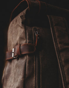 Waxed canvas laptop bag from Cotswold Hipster