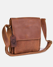 The Broadway leather messenger bag