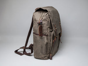The Chalford Waxed Canvas Camera Backpack (2018)