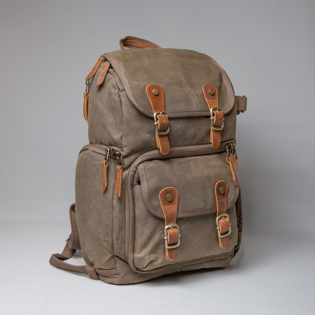 Blenheim Waxed Canvas DSLR Camera Backpack 2019