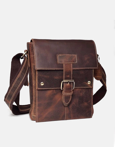 The Cheltenham Leather Messenger Bag