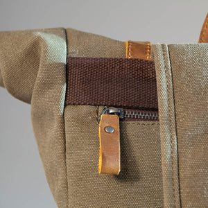 The Oaksey Heavy Grade Cotton Canvas Backpack (2019) collection