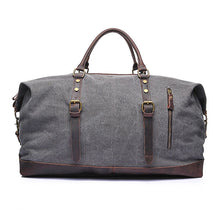 The Burford Canvas and Leather Hold-All, Travel Bag, Duffle Bag