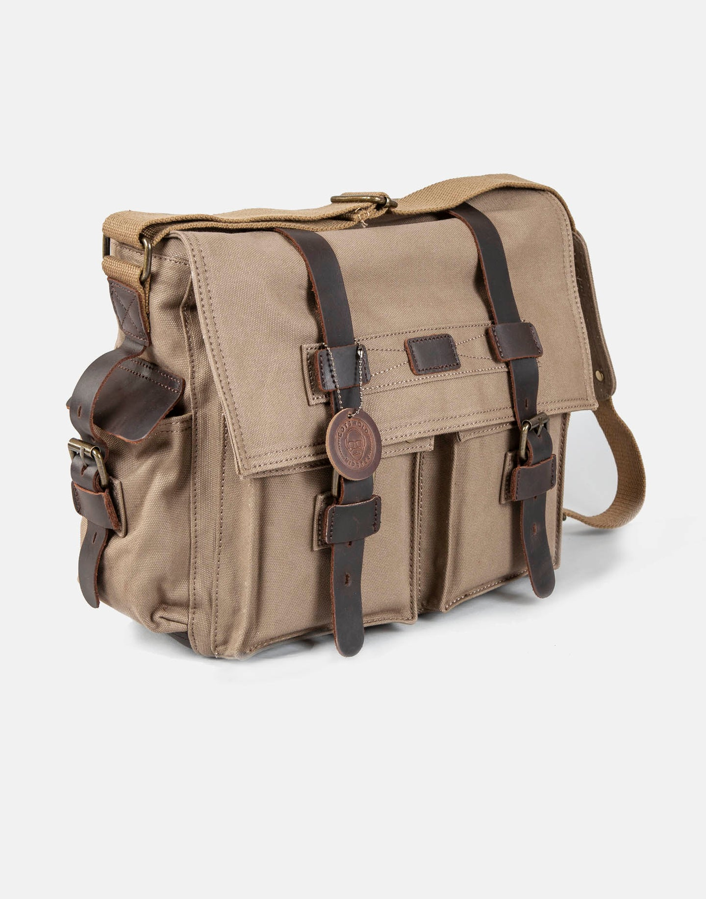 The Elkstone Canvas and Leather Messenger Bag (2019)