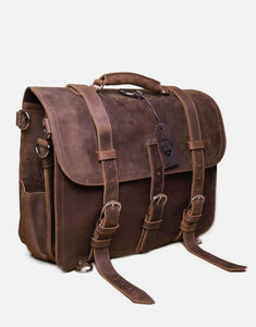 The Fairford Leather Bag with Backpack Attachments (2019)
